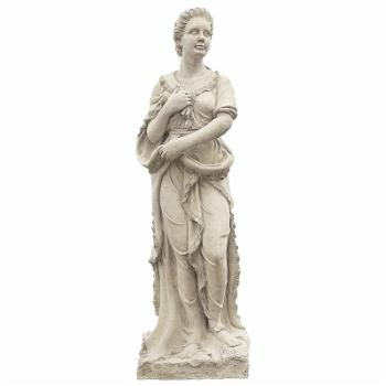 Design Toscano The Four Goddesses of the Seasons Statue - Winter