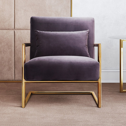 Tov Furniture Elle Velvet Upholstered Chair by Tov Furniture