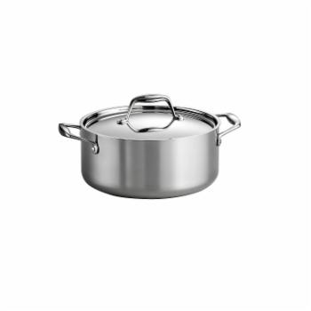 Tramontina Gourmet Tri-Ply Clad Covered Dutch Oven