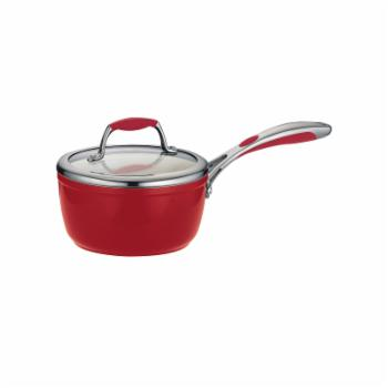 Tramontina Gourmet Ceramica Deluxe Exterior and Interior Covered Sauce Pan