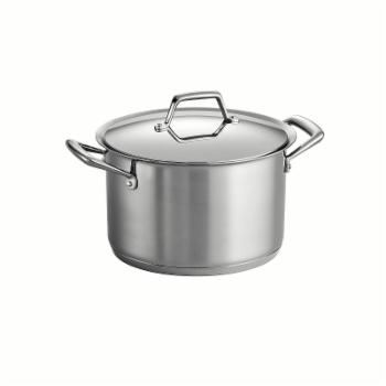 Tramontina Gourmet Prima Tri-Ply Base Covered Stock Pot