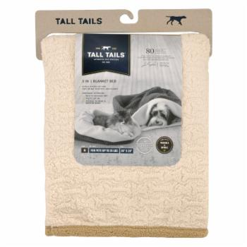 Tall Tails 3-in-1 Burrow Dog Bed