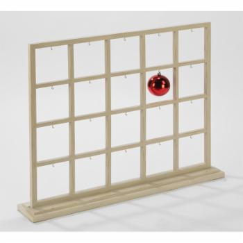 Tripar Divided Window Display with Hooks