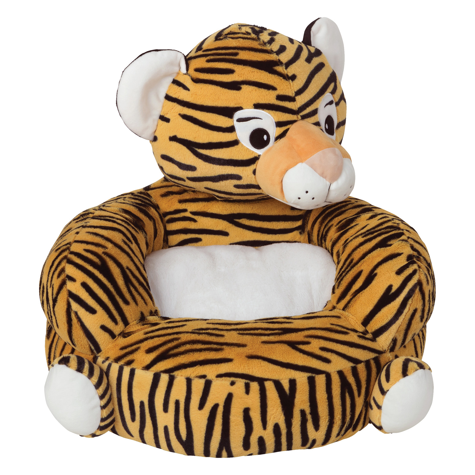 Beau Childrens Plush Tiger Character Chair By Trend Lab