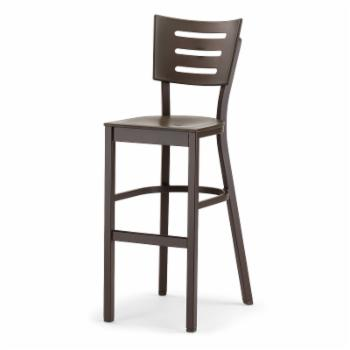 Telescope Casual Avant Bar Height Stacking Armless Chair