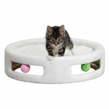 Trixie Pet Products Plush Cat Hammock with Toys