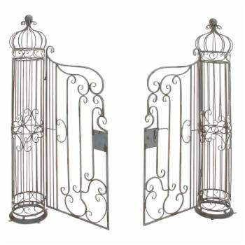 DecMode Iron Arbor with Gate - Bronze