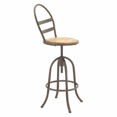 Remarkable Distressed Industrial Style Bar Stools And Counter Stools Pabps2019 Chair Design Images Pabps2019Com
