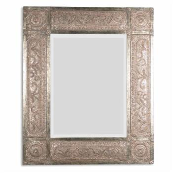 Uttermost Harvest Serenity Wall Mirror - 50W x 60H in.