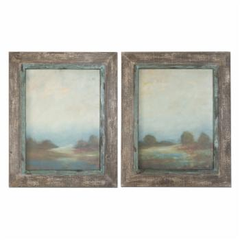 Uttermost Morning Vistas - Set of 2 - 25W x 31H in. ea.