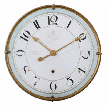 HN Home Hartwell Coastal Wall Clock