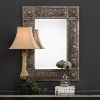 Magnolia Grove Geena Metal Rectangle Mirror - 30.13W x 40.25H