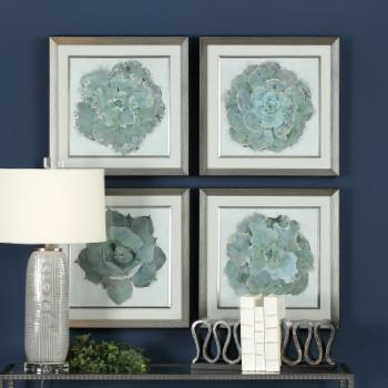 Uttermost Natural Beauties Botanical Prints Wall Art - Set of 4