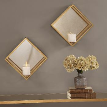 Uttermost Zulia Candle Wall Sconces - Set of 2