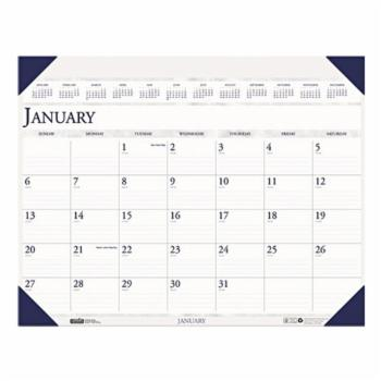 House of Doolittle Executive Monthly Desk Pad Calendar, 24 x 19