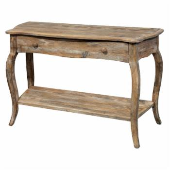 Alaterre Rustic Reclaimed Console Table