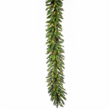Vickerman 50 ft. Cheyenne Garland - 400 Clear Lights