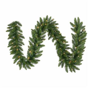 Vickerman 9 ft. Camden Dura- Lit Garland