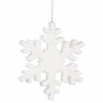 Vickerman 30 in. Glitter Snowflake Ornament