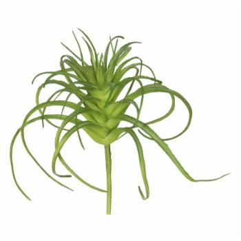 Vickerman 5H in. Silk Frosted Green Grass Stem - Set of 6