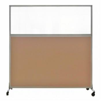 Versare Hush Screen 6 ft. Tall Portable Divider with Optional Wheels