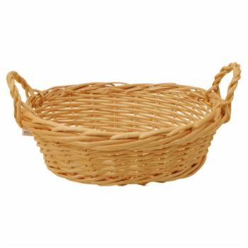 Wald Import 12 in. Bleached Willow Basket