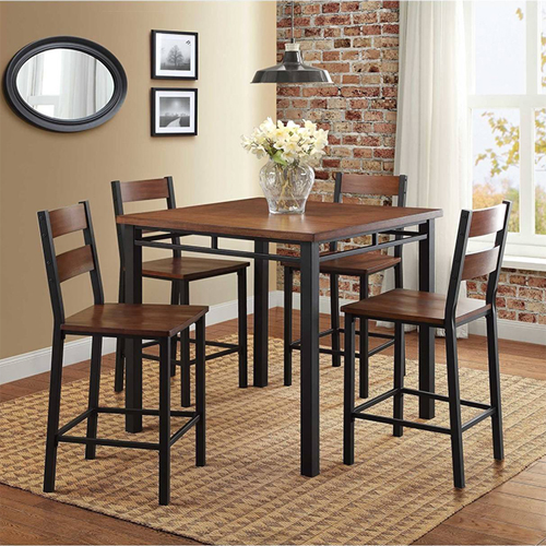 Better Homes \u0026 Gardens Mercer 5 Piece Counter Height Dining Set & Counter Height Dining Table Sets | Hayneedle