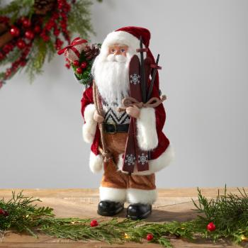 Belham Living 12 in. Rustic Santa