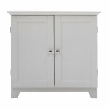 Redmon Contemporary Country Shaker Style Double Door Cabinet