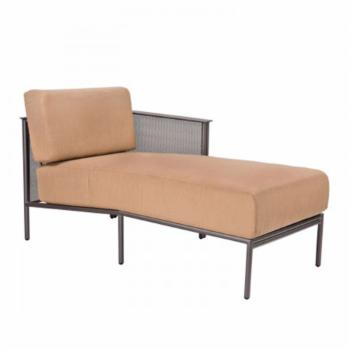 Woodard Jax LAF Iron Sectional Chaise Unit