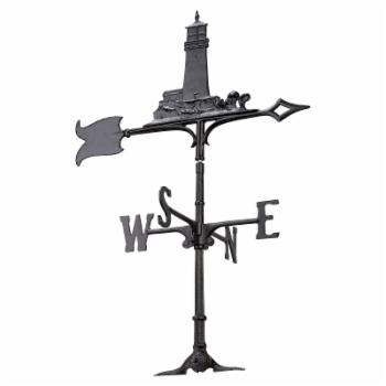 Whitehall 30 in. Lighthouse Garden Weathervane