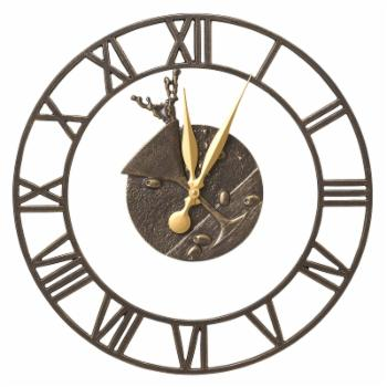 Whitehall Products Martini Floating Ring 21-in. Indoor/Outdoor Wall Clock
