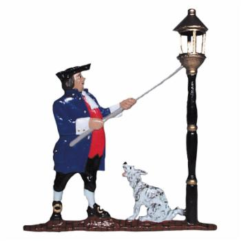 Whitehall Mailbox Ornament - Lamplighter