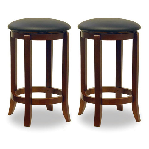 Winsome 24 Inch Swivel Counter Stool Set Of 2