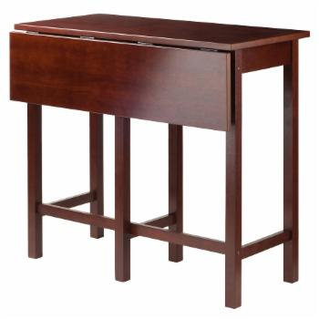 Winsome Lynnwood Drop Leaf Counter Height Pub Table