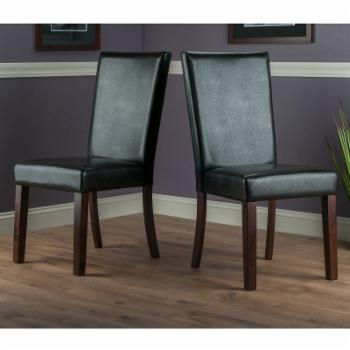Winsome Trading Johnson Dining Chair - Set of 2