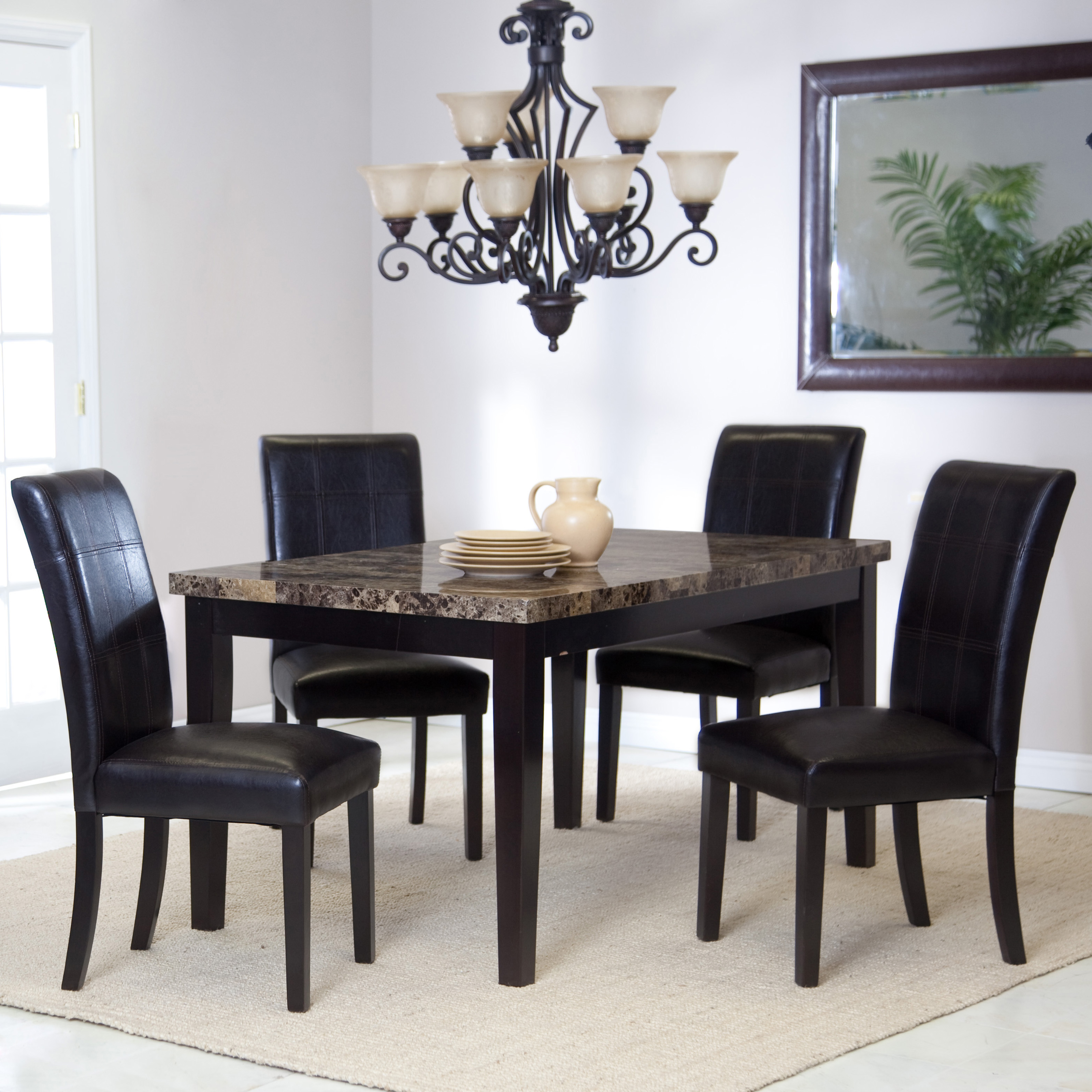 Palazzo 5-piece Dining Set & Casual Kitchen \u0026 Dining Table Sets | Hayneedle