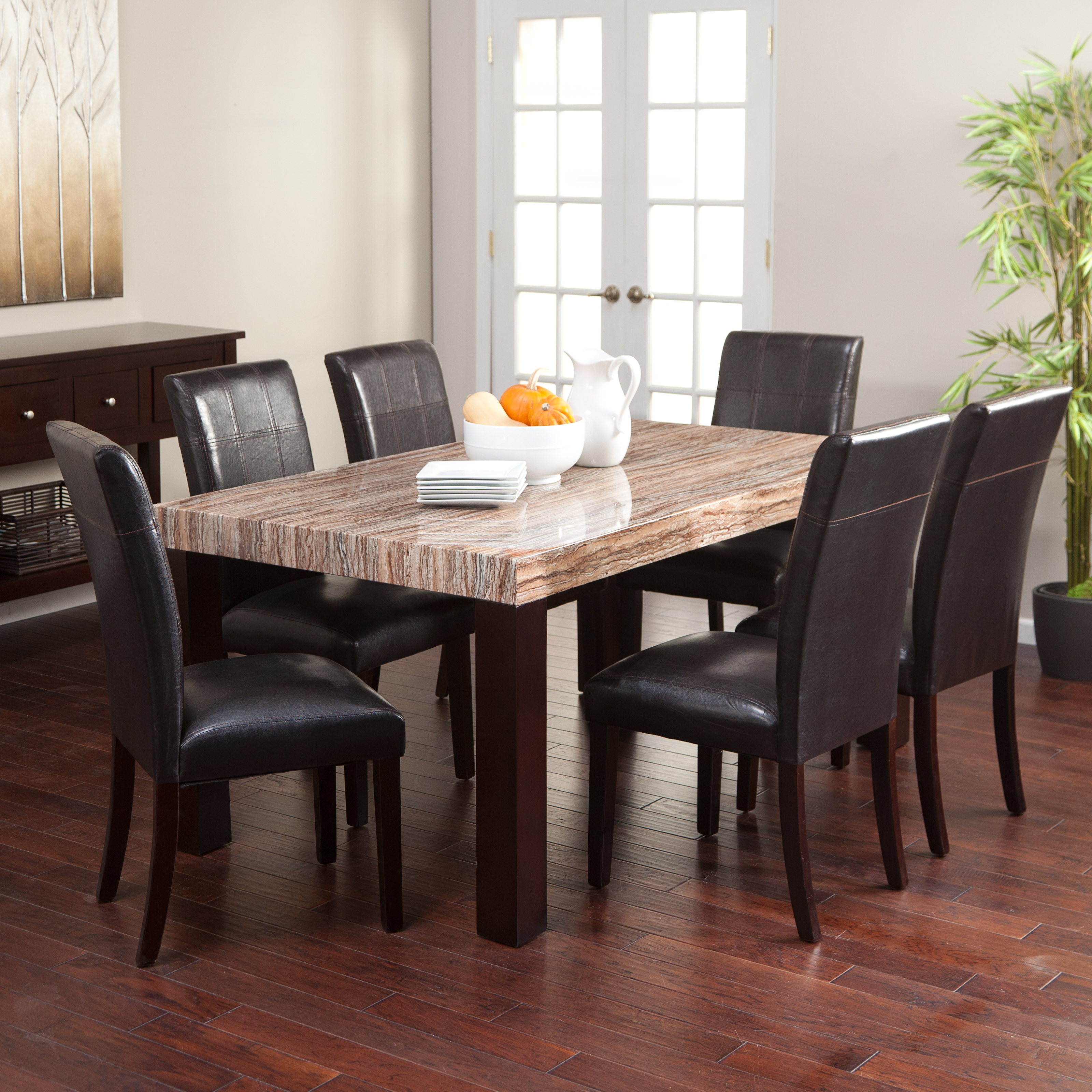 Carmine 7 Piece Dining Table Set | Hayneedle