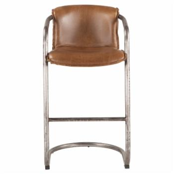 World Interiors Chiavari 31 in. Leather Bar Chair - Set of 2