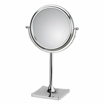 WS Bath Collections Doppiolo 46-1KK3 Magnifying Free Standing Mirror
