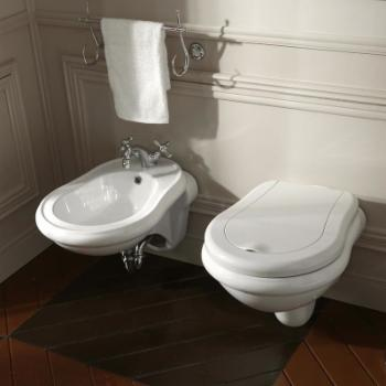 WS Bath Collections Retro 1025 Wall Mounted Bidet