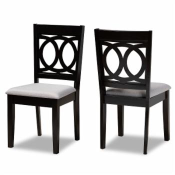 Baxton Studio Lenoir Dining Chair - Set of 2