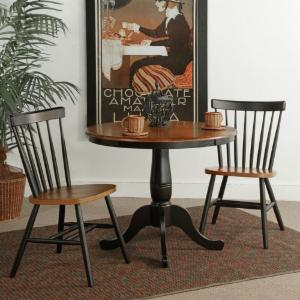 Round Kitchen & Dining Table Sets | Hayneedle