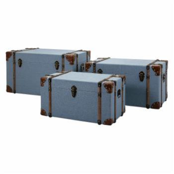 IMAX Fullerton Trunks - Set of 3