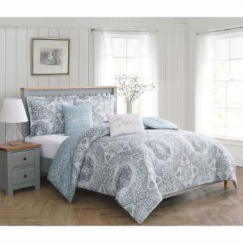 Picadilly 5 Piece Reversible Comforter Set by Boho Living