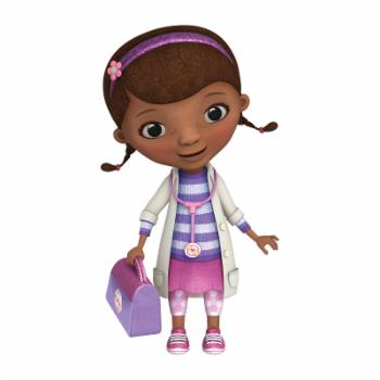 Doc McStuffins Peel and Stick Giant Wall Decals