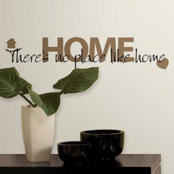 No Place Like Home Peel and Stick Wall Decals