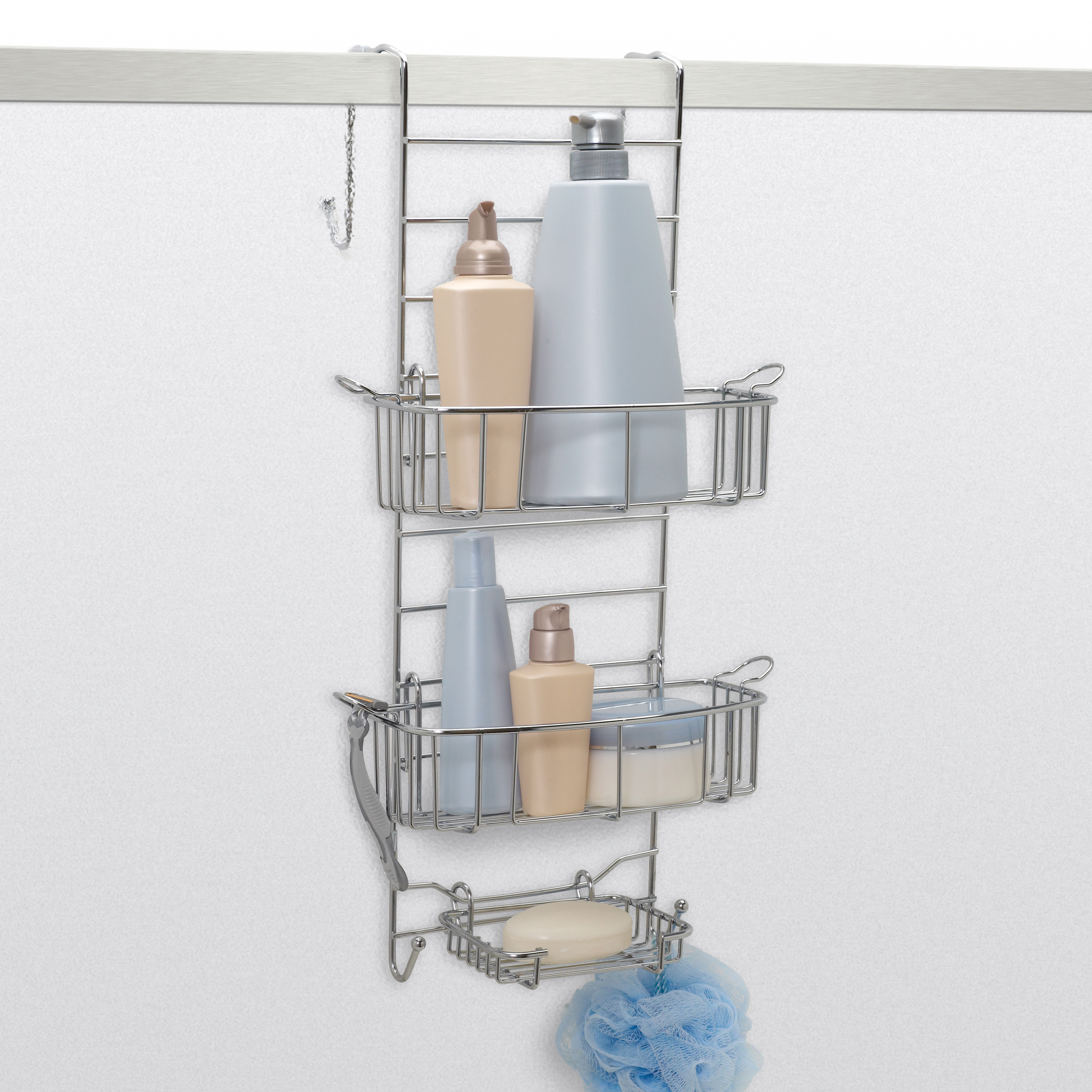 Zenith E7546NSP Premium Expandable Shower Caddy | Hayneedle