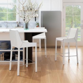 Zuo Modern Contemporary Fashion 26 in. Counter Stool - Set of 2