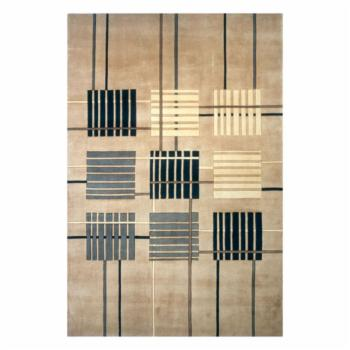 Momeni New Wave Mainframe NW-48 Area Rug - Sand